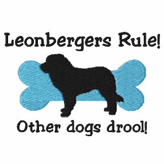 Leonbergers Rule Embroidered T-Shirt