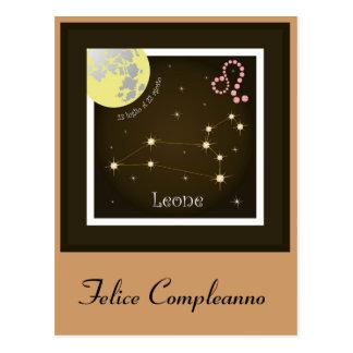 Leone 23 peeping Lio Al 22 agosto postcard