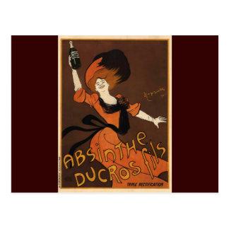 Leonetto Cappiello Absinthe Ducros Fils Postcards
