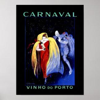 """Leonetto Cappiello Art Deco Poster """"Carnaval"""""""