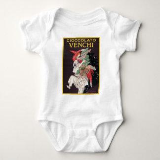 Leonetto Cappiello Cioccolato Venchi Baby Bodysuit