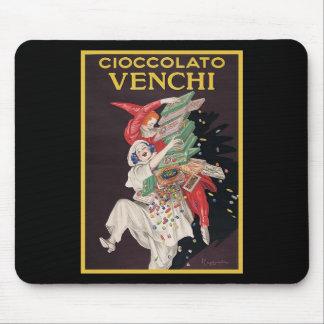 Leonetto Cappiello Cioccolato Venchi Mouse Pad