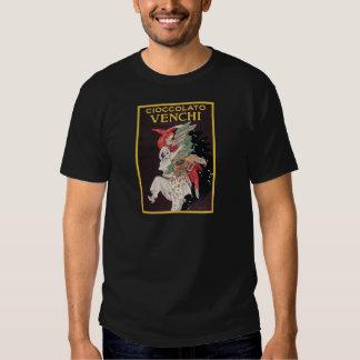 Leonetto Cappiello Cioccolato Venchi T Shirts