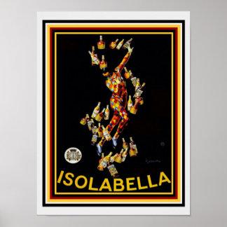 """Leonetto Cappiello """"Isolabella"""" Vintage Ad 12 x 16 Poster"""
