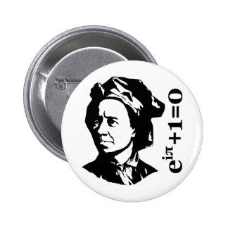 Leonhard Euler 2 Inch Round Button
