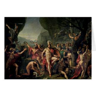 Leonidas at Thermopylae Card