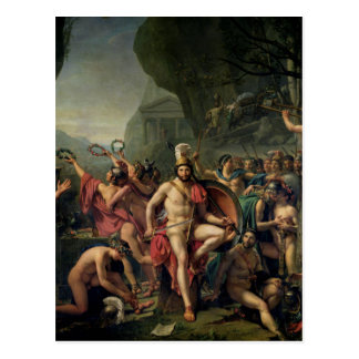 Leonidas at Thermopylae Postcard
