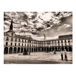 Leon's Plaza Mayor Postcard