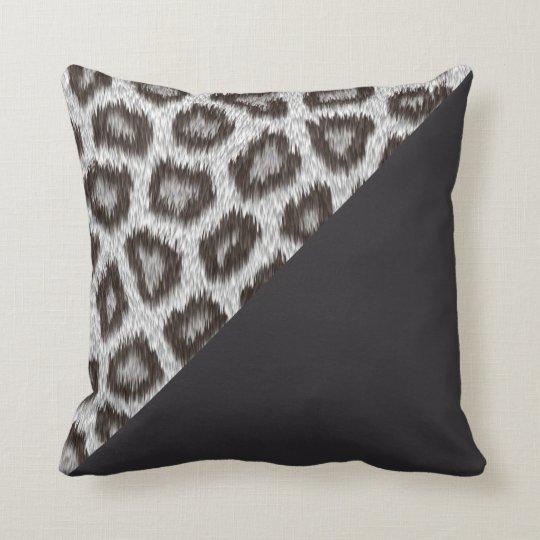 Leopard1 - Night- cushion 40.6cm x 40.6cm