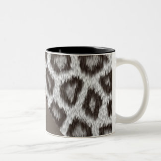 Leopard2 - Cacao- black 325 ml two-tone magnetic Two-Tone Coffee Mug