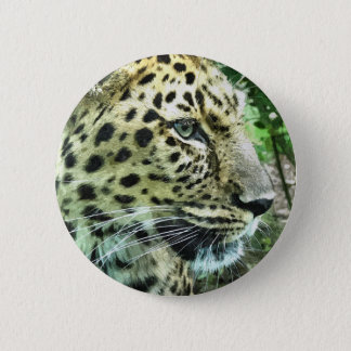 LEOPARD 2 INCH ROUND BUTTON