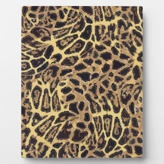Leopard 8x10 With Easel Plaque