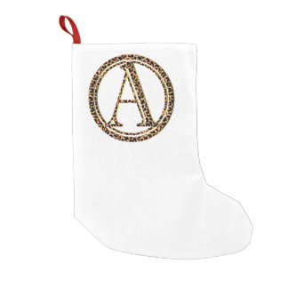 leopard A Small Christmas Stocking