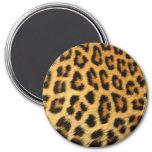 Leopard Animal Fur Print Texture Pattern Magnet
