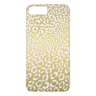 Leopard Animal Print | Gold iPhone 7 Plus Case