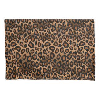 Leopard Animal Print in Brown Pillowcase