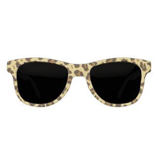 Leopard Animal Print Pattern Adult Retro Sunglasse Sunglasses