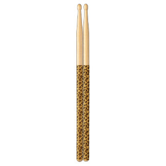 Leopard Animal Print Pattern Drumsticks