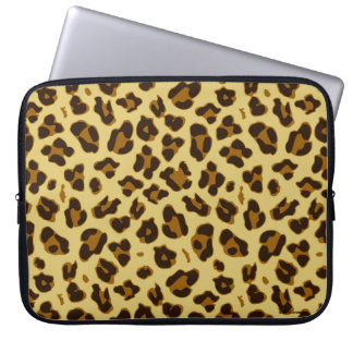 Leopard Animal Print Pattern Laptop Sleeve