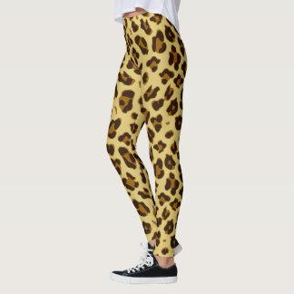 Leopard Animal Print Pattern Women's Leggings