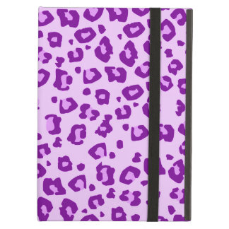 Leopard animal print purple ipad powis case