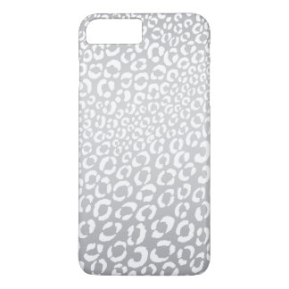 Leopard Animal Print | Silver iPhone 7 Plus Case