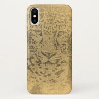 Leopard Art iPhone X Case