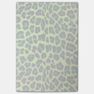 Leopard Black and Green Print Post-it® Notes