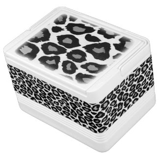 Leopard - Black and White