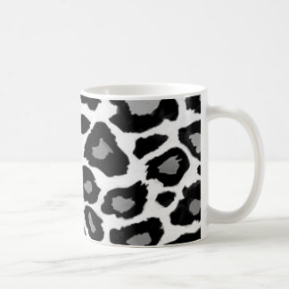 Leopard Black and White Mugs