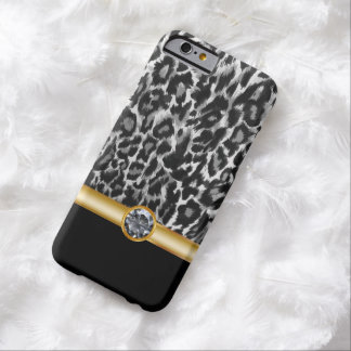 Leopard Bling Style Barely There iPhone 6 Case