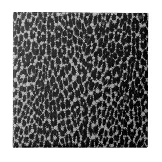 Leopard Blk/White Ceramic Tile