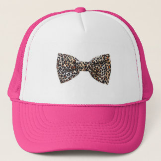 Leopard Bow Hat