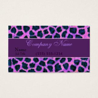 Leopard Business Business Card