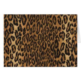 Leopard Card