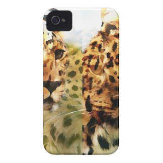Leopard Cat Abstract iPhone 4 Case-Mate Case
