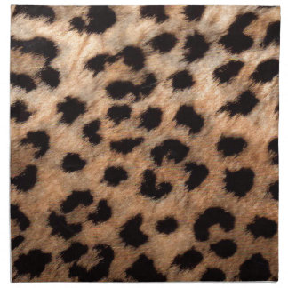 Leopard Cheetah Animal Print Girly Modern Trendy Napkin