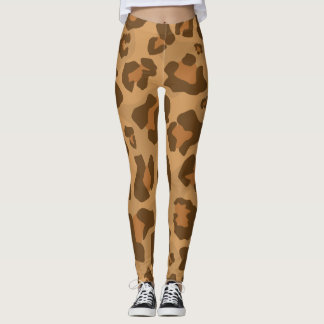 Leopard Cheetah Cougar Jaguar Puma Pattern Leggings
