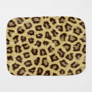 Leopard / Cheetah Print Burp Cloth