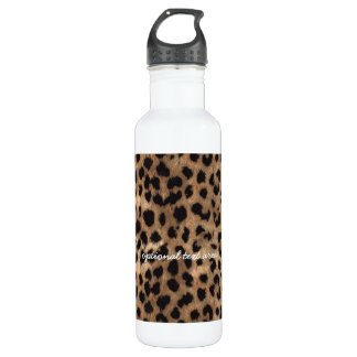 Leopard Cheetah Print Glamour Girls 710 Ml Water Bottle