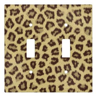 Leopard / Cheetah Print Light Switch Cover