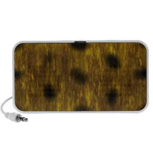 Leopard Cheetah Print Patterned iPhone Speakers