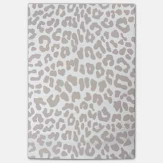 Leopard Chocolate Print Post-it® Notes
