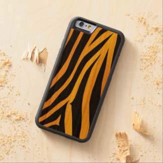 Leopard cover Carved®iPhone 6/6s Bumper Wood Case