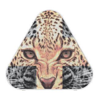 Leopard Cross Hipster Blueooth Speaker
