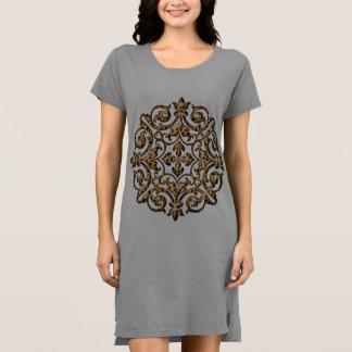 Leopard Design Nightgown Dress
