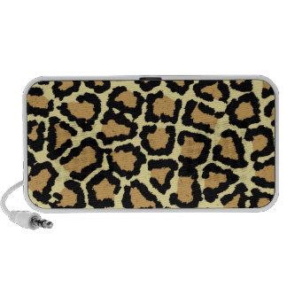 Leopard doodle speaker