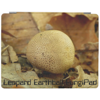 Leopard Earthball FungiPad Cover iPad Cover