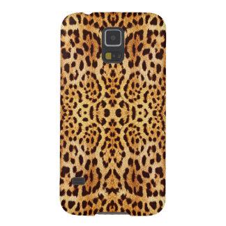 leopard elegant fur galaxy s5 cases
