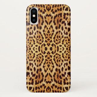 leopard elegant fur iPhone x case